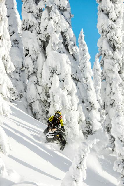 2018 Ski-Doo Summit SP 154 850 E-TEC ES, PowderMax Light 3.0 in Toronto, South Dakota