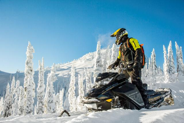 2018 Ski-Doo Summit SP 165 850 E-TEC ES, PowderMax Light 3.0 in Cottonwood, Idaho