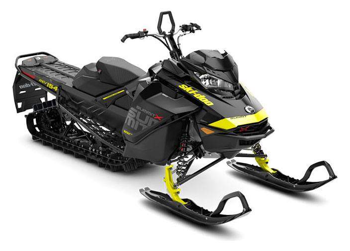 2018 Ski-Doo Summit X 154 850 E-TEC ES, PowderMax Light 2.5 H_ALT in Sierra City, California