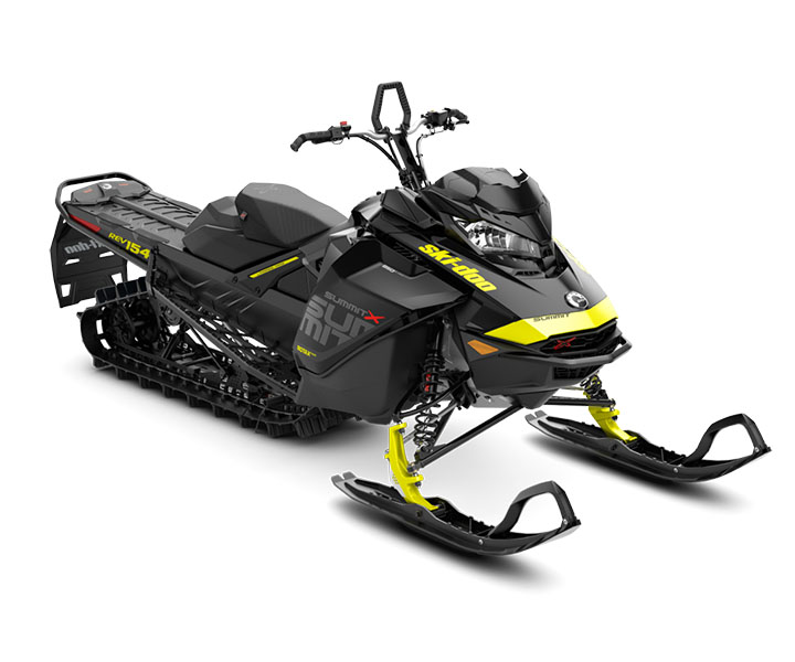 2018 Ski-Doo Summit X 154 850 E-TEC ES, PowderMax Light 2.5 S_LEV in Island Park, Idaho