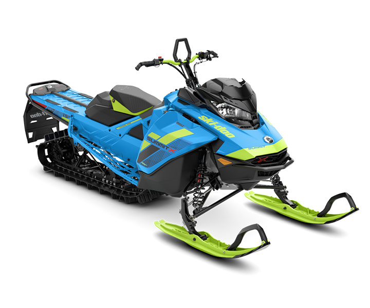2018 Ski-Doo Summit X 154 850 E-TEC ES, PowderMax Light 3.0 H_ALT in Unity, Maine