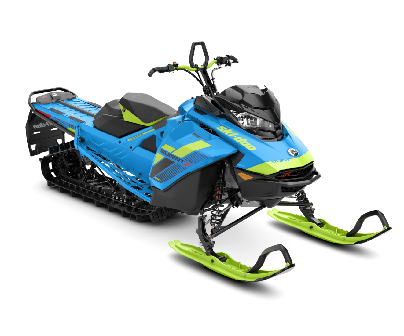 2018 Ski-Doo Summit X 154 850 E-TEC ES, PowderMax Light 3.0 S_LEV in Island Park, Idaho