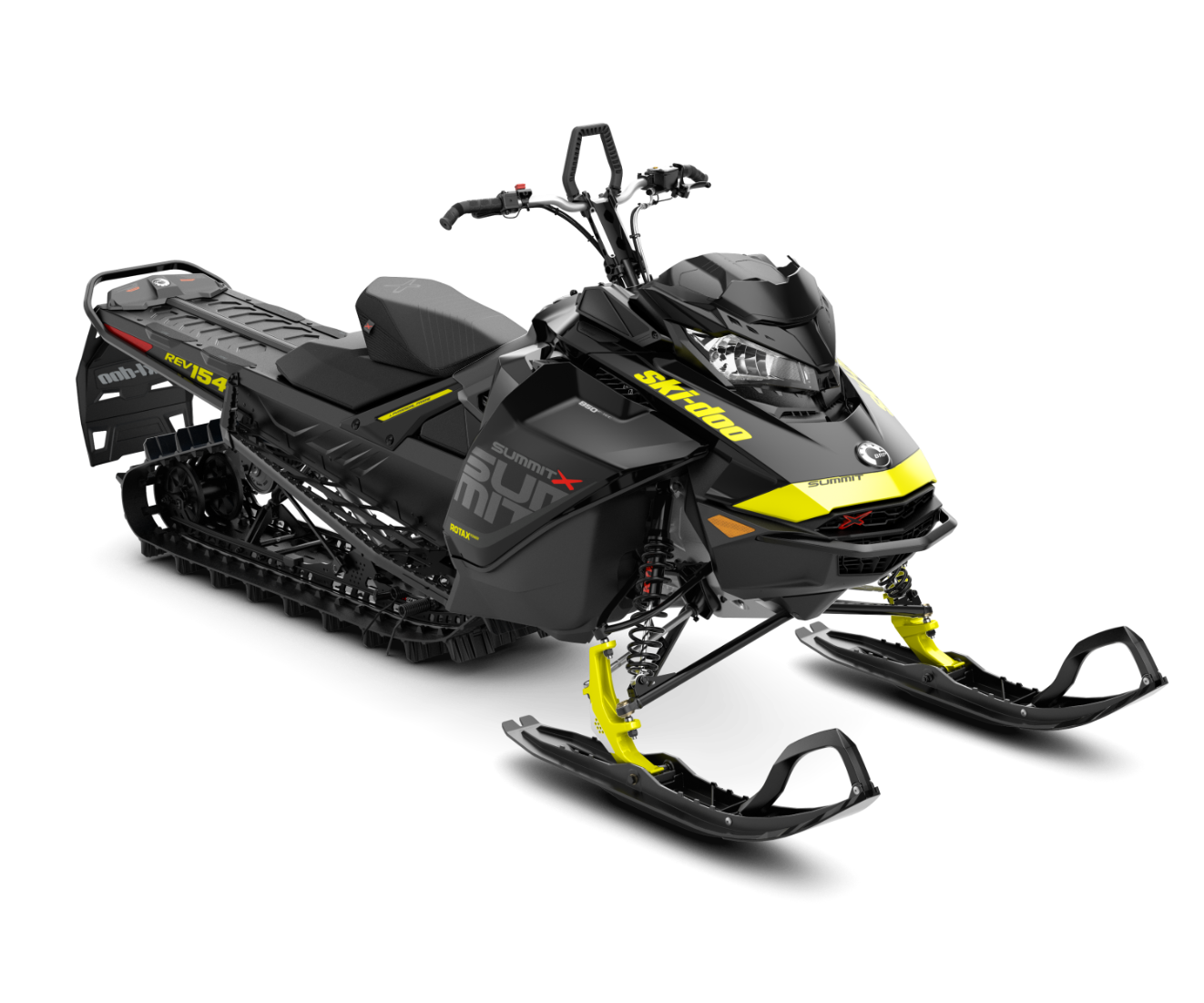 2018 Ski-Doo Summit X 154 850 E-TEC, PowderMax Light 2.5 H_ALT in Island Park, Idaho