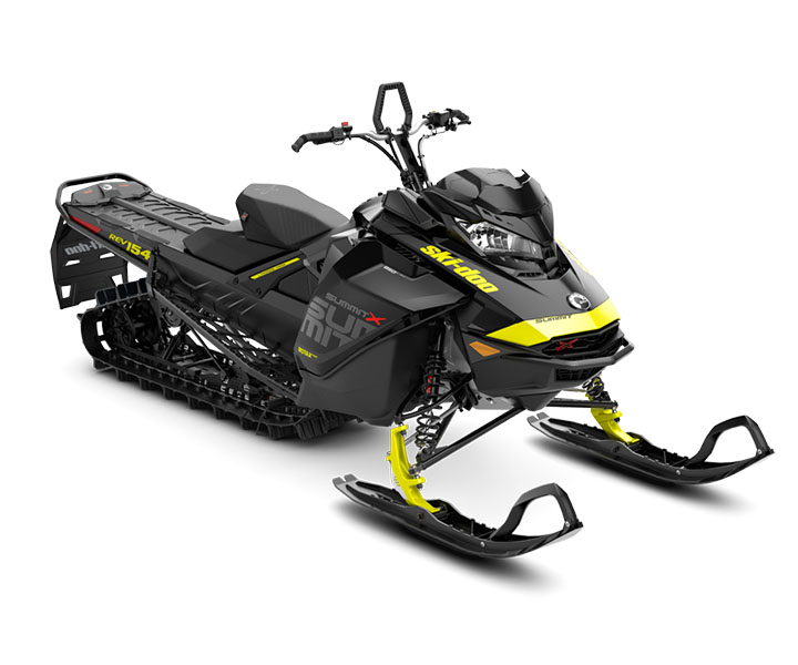 2018 Ski-Doo Summit X 154 850 E-TEC, PowderMax Light 3.0 S_LEV in Speculator, New York
