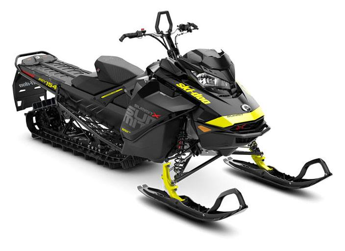 2018 Ski-Doo Summit X 154 850 E-TEC, PowderMax Light 3.0 S_LEV in Fond Du Lac, Wisconsin