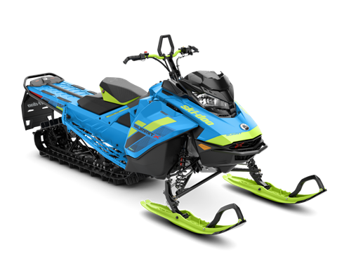2018 Ski-Doo Summit X 154 850 E-TEC, PowderMax Light 3.0 S_LEV in Wisconsin Rapids, Wisconsin