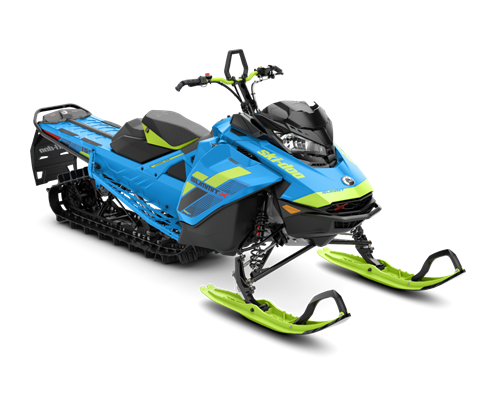 2018 Ski-Doo Summit X 154 850 E-TEC SS, PowderMax Light 3.0 S_LEV in Island Park, Idaho