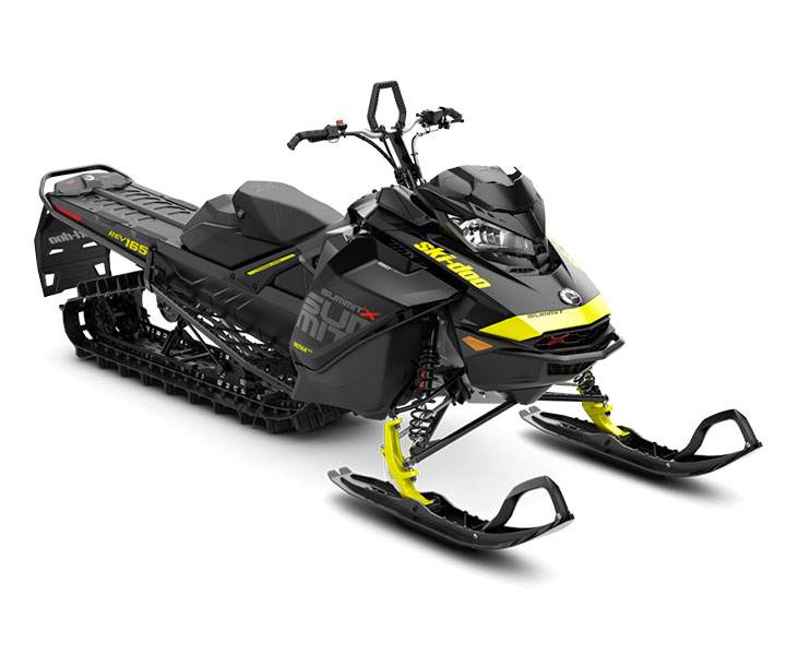 2018 Ski-Doo Summit X 165 850 E-TEC ES, PowderMax Light 2.5 H_ALT in Unity, Maine