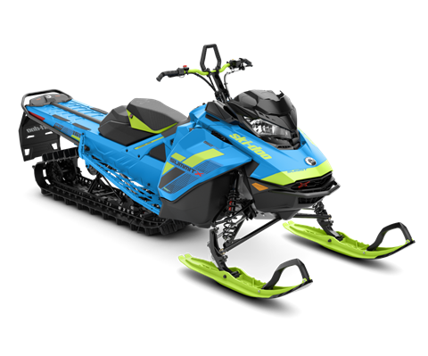 2018 Ski-Doo Summit X 165 850 E-TEC ES, PowderMax Light 2.5 H_ALT in Presque Isle, Maine