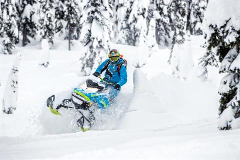 2018 Ski-Doo Summit X 165 850 E-TEC ES, PowderMax Light 2.5 H_ALT in Colebrook, New Hampshire