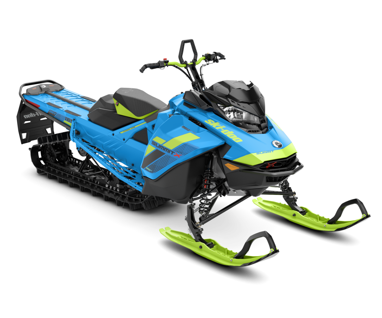 2018 Ski-Doo Summit X 165 850 E-TEC ES, PowderMax Light 3.0 H_ALT in Toronto, South Dakota