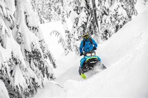 2018 Ski-Doo Summit X 165 850 E-TEC ES, PowderMax Light 3.0 H_ALT in Island Park, Idaho