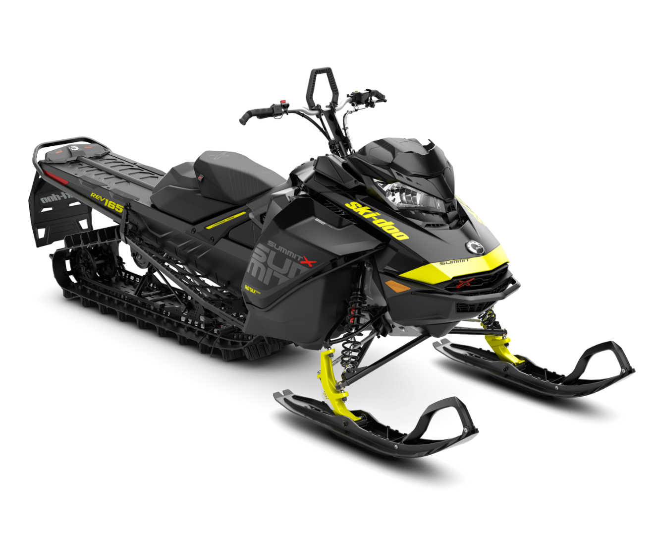 2018 Ski-Doo Summit X 165 850 E-TEC ES, PowderMax Light 3.0 S_LEV in Alexandria, Minnesota