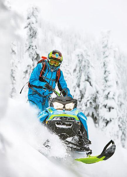 2018 Ski-Doo Summit X 165 850 E-TEC ES, PowderMax Light 3.0 S_LEV in Fond Du Lac, Wisconsin - Photo 6