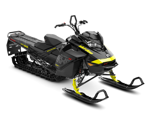 2018 Ski-Doo Summit X 165 850 E-TEC, PowderMax Light 2.5 H_ALT in Island Park, Idaho