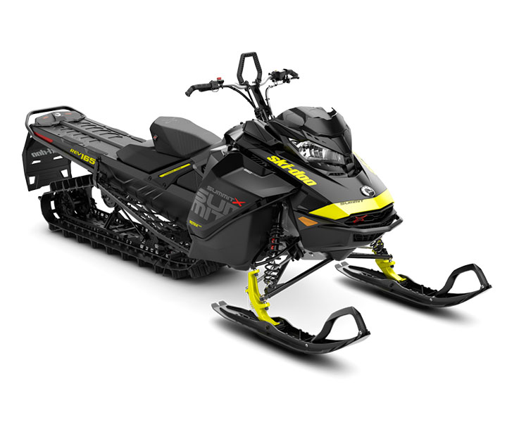 2018 Ski-Doo Summit X 165 850 E-TEC, PowderMax Light 2.5 H_ALT in Sierra City, California