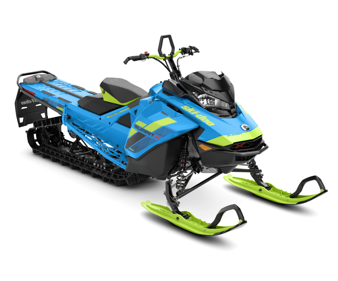 2018 Ski-Doo Summit X 165 850 E-TEC, PowderMax Light 2.5 H_ALT in Alexandria, Minnesota