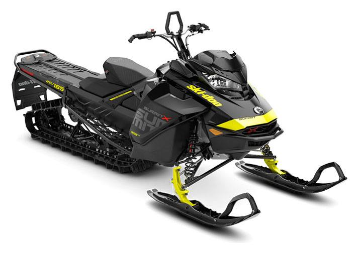 2018 Ski-Doo Summit X 165 850 E-TEC, PowderMax Light 2.5 S_LEV in Fond Du Lac, Wisconsin