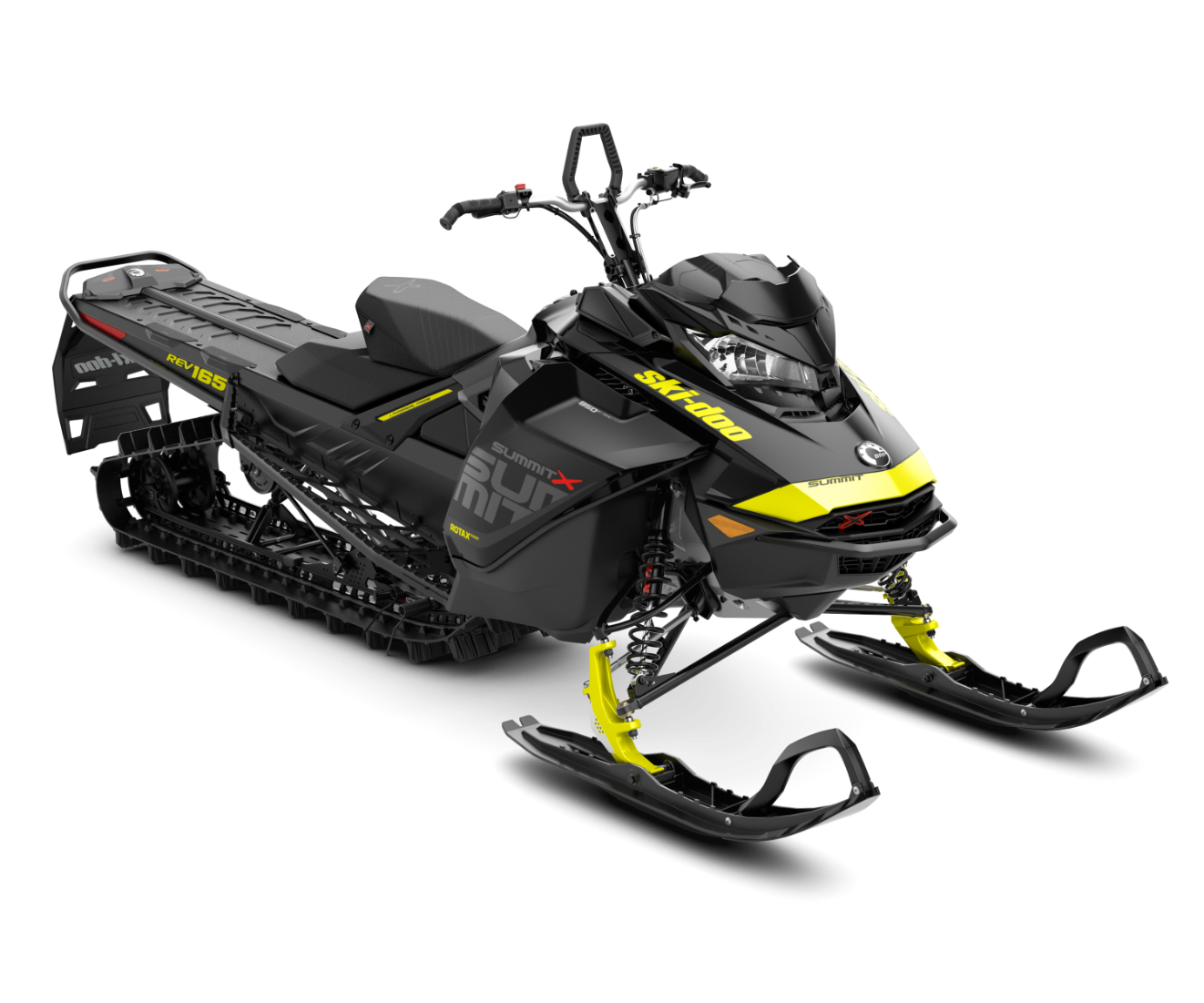 2018 Ski-Doo Summit X 165 850 E-TEC, PowderMax Light 3.0 H_ALT in Island Park, Idaho