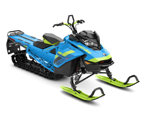 2018 Ski-Doo Summit X 165 850 E-TEC, PowderMax Light 3.0 S_LEV in Presque Isle, Maine