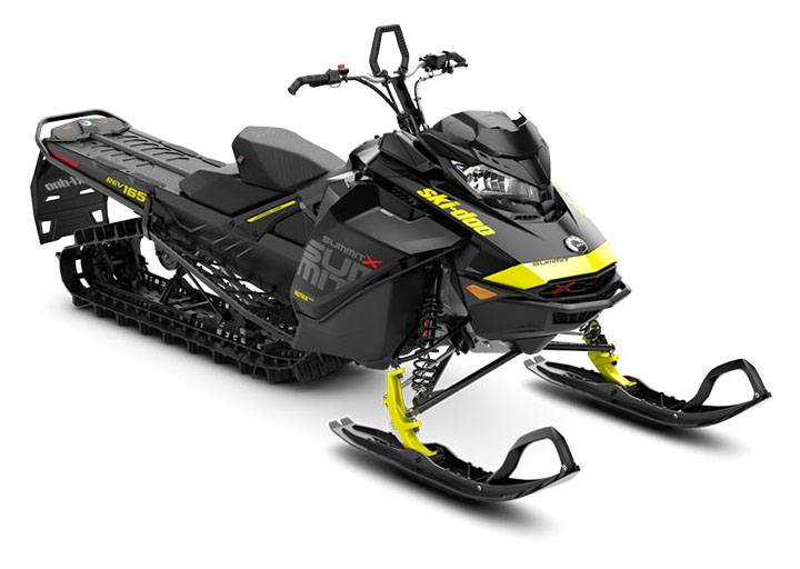 2018 Ski-Doo Summit X 165 850 E-TEC SS, PowderMax Light 2.5 H_ALT in Clarence, New York