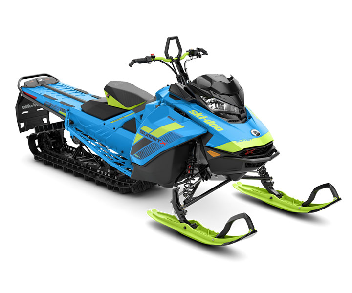 2018 Ski-Doo Summit X 165 850 E-TEC SS, PowderMax Light 3.0 S_LEV in Sierra City, California