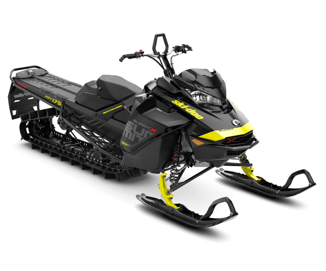 2018 Ski-Doo Summit X 175 850 E-TEC ES H_ALT in Unity, Maine