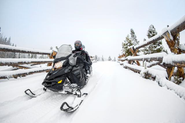 2018 Ski-Doo Grand Touring LE 1200 4-TEC ES Ripsaw 1.25 STIS in Presque Isle, Maine