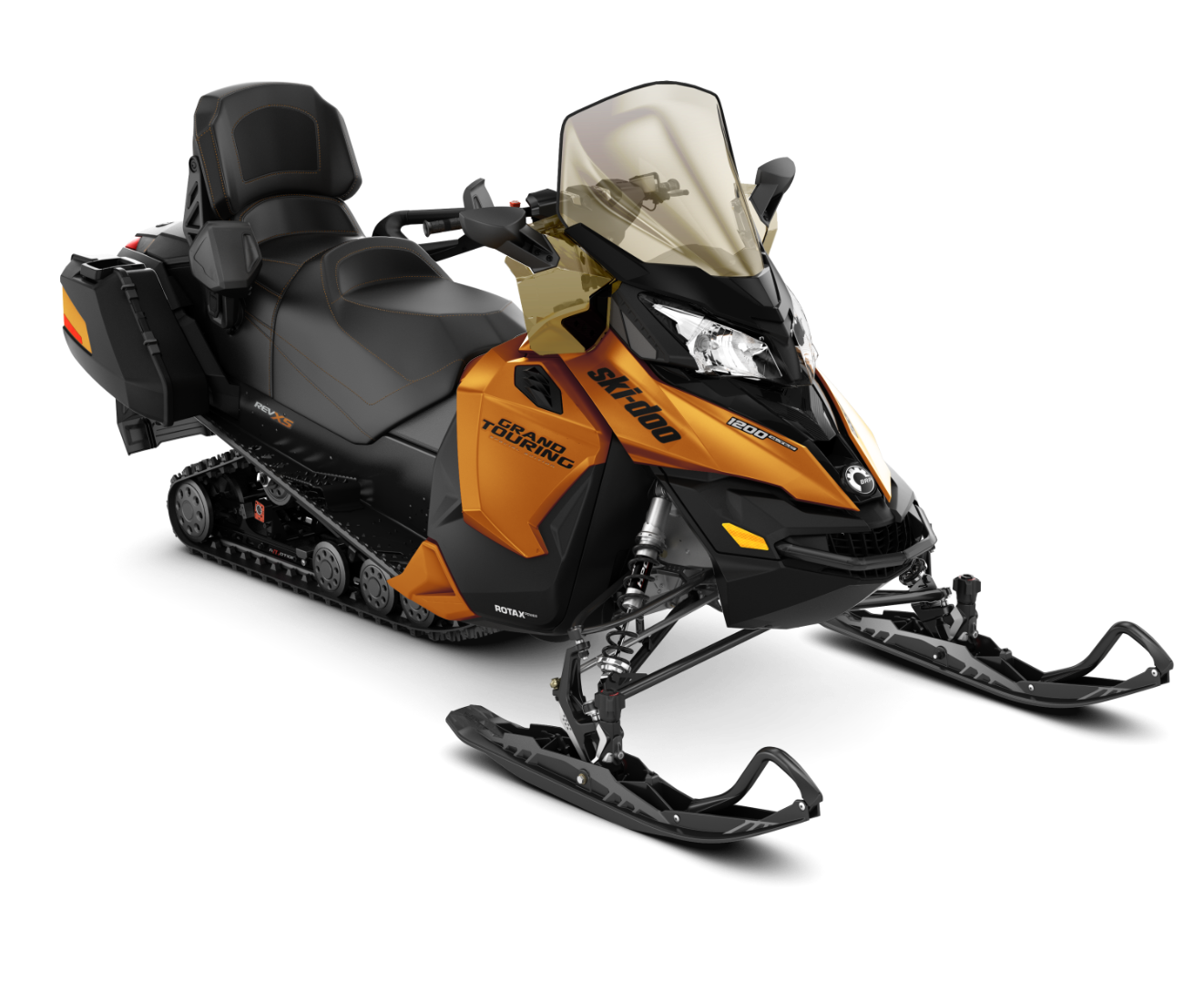 2018 Ski-Doo Grand Touring SE 1200 4-TEC ES Ripsaw 1.25 STIS in Huron, Ohio