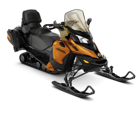 2018 Ski-Doo Grand Touring SE 1200 4-TEC ES Ripsaw 1.25 STIS in Adams, Massachusetts