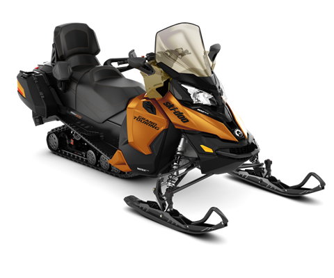 2018 Ski-Doo Grand Touring SE 900 ACE ES Ripsaw 1.25 STIS in Adams, Massachusetts