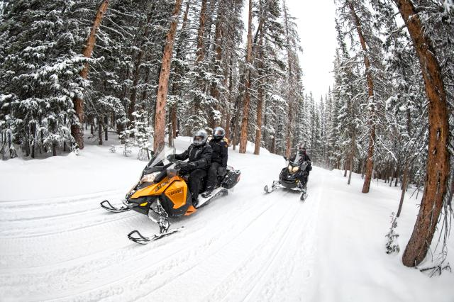 2018 Ski-Doo Grand Touring Sport ES in Boonville, New York