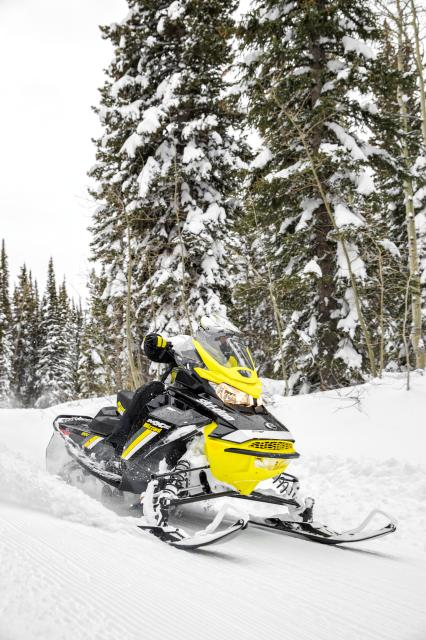 2018 Ski-Doo MXZ Blizzard 850 E-TEC in Baldwin, Michigan
