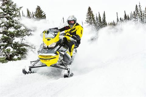 2018 Ski-Doo MXZ Blizzard 600 HO E-TEC in Presque Isle, Maine