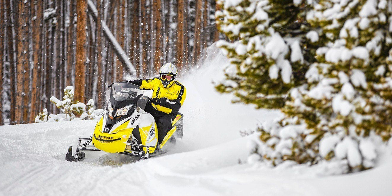 2018 Ski-Doo MXZ TNT 600 HO E-TEC in Concord, New Hampshire