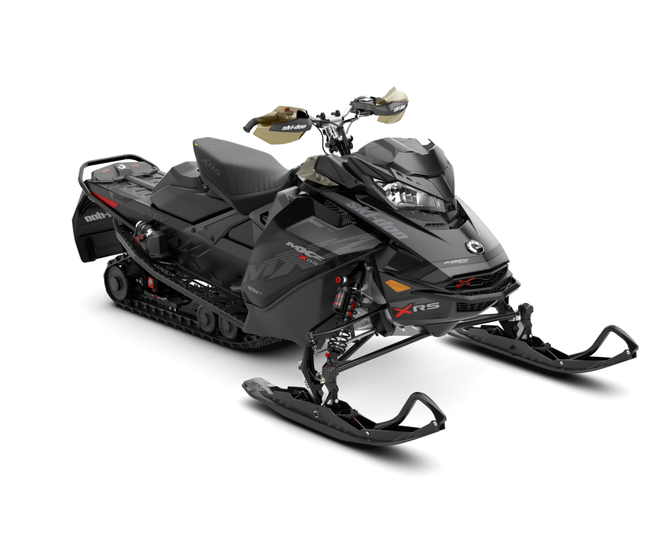 2018 Ski-Doo MXZ X-RS 850 E-TEC w/ Adj. Pkg. Ice Cobra 1.6 in Honesdale, Pennsylvania