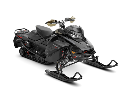 2018 Ski-Doo MXZ X-RS 850 E-TEC w/ Adj. Pkg. Ice Ripper XT 1.25 in Honesdale, Pennsylvania
