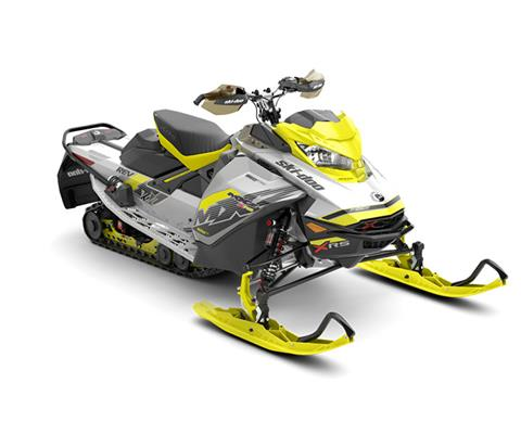 2018 Ski-Doo MXZ X-RS 850 E-TEC w/ Adj. Pkg. Ice Ripper XT 1.25 in Speculator, New York