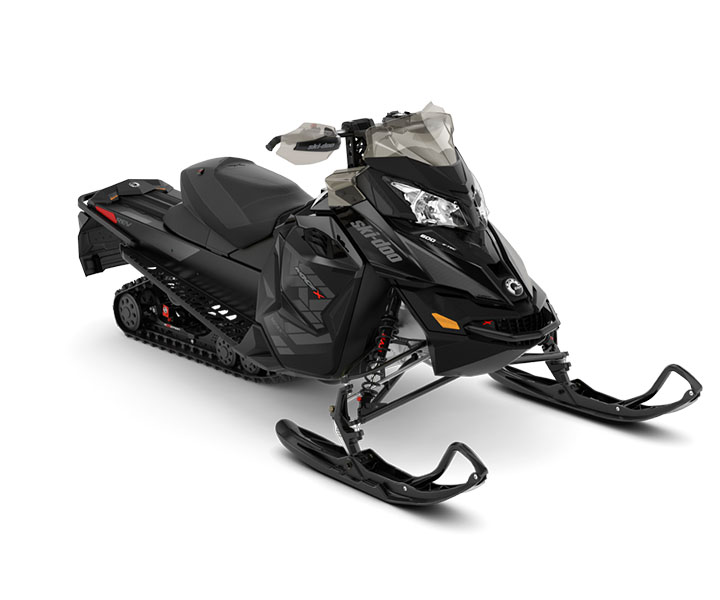 2018 Ski-Doo MXZ X 1200 4-TEC Ice Ripper XT 1.25 in Butte, Montana
