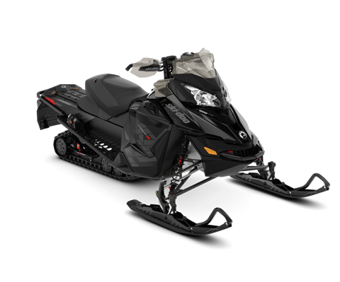 2018 Ski-Doo MXZ X 1200 4-TEC w/ Adj. Pkg. Ice Ripper XT 1.25 in Ponderay, Idaho