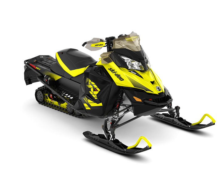 2018 Ski-Doo MXZ X 1200 4-TEC w/ Adj. Pkg. Ice Ripper XT 1.25 in Boonville, New York