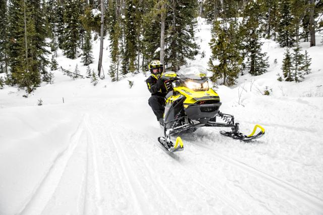 2018 Ski-Doo MXZ X 600 HO E-TEC Ice Ripper XT 1.25 in Speculator, New York