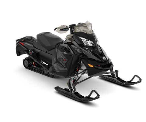 2018 Ski-Doo MXZ X 600 HO E-TEC w/ Adj. Pkg. Ice Ripper XT 1.25 in Colebrook, New Hampshire