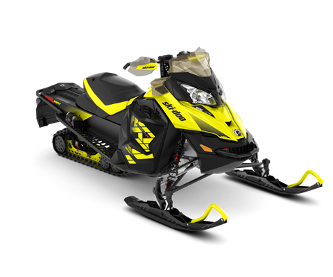 2018 Ski-Doo MXZ X 600 HO E-TEC w/ Adj. Pkg. Ice Ripper XT 1.25 in Clinton Township, Michigan