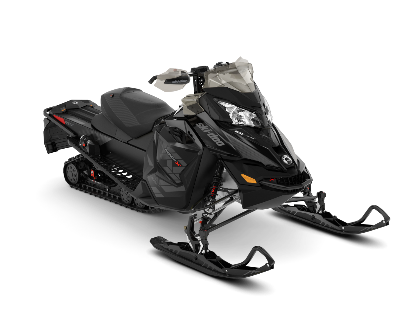 2018 Ski-Doo MXZ X 600 HO E-TEC w/ Adj. Pkg. Ripsaw 1.25 in Moses Lake, Washington