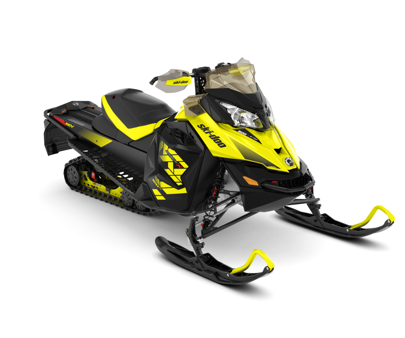 2018 Ski-Doo MXZ X 600 HO E-TEC Ice Cobra 1.6 in Honesdale, Pennsylvania