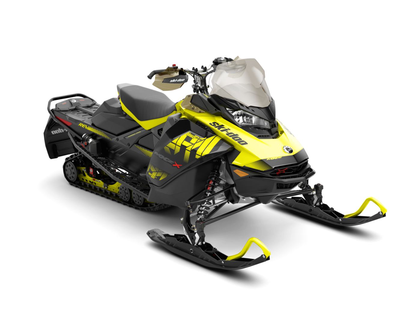 2018 Ski-Doo MXZ X 850 E-TEC Ice Cobra 1.6 in Presque Isle, Maine