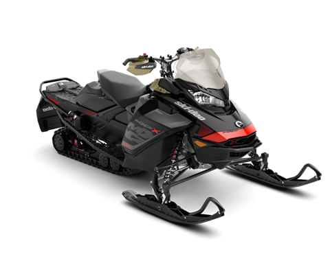 2018 Ski-Doo MXZ X 850 E-TEC Ice Ripper XT 1.25 in Detroit Lakes, Minnesota