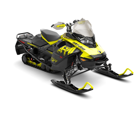 2018 Ski-Doo MXZ X 850 E-TEC w/ Adj. Pkg. Ice Cobra 1.6 in Colebrook, New Hampshire