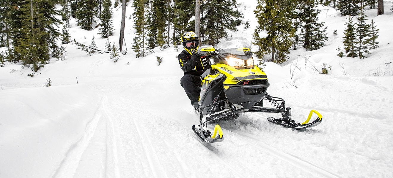 2018 Ski-Doo MXZ X 850 E-TEC w/ Adj. Pkg. Ice Cobra 1.6 in Boonville, New York